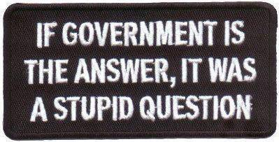 If government is the answer