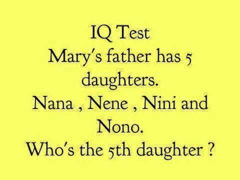 5 daughters
