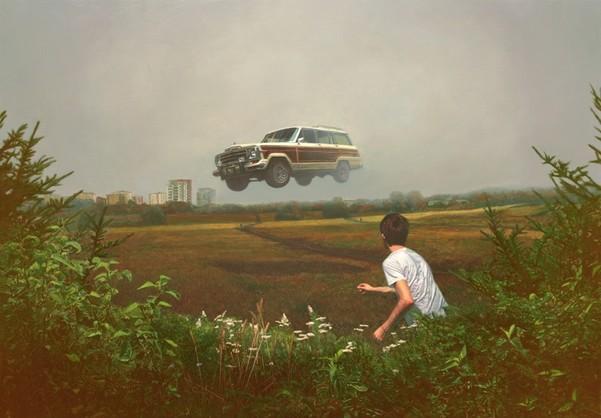 Flying woody