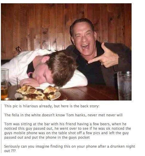 Tom Hanks Surprise